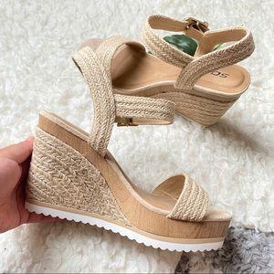 Soda Espadrille Wedge Sandals